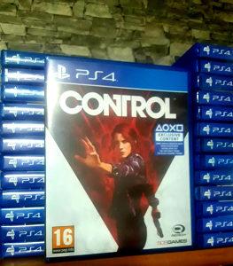 CONTROL igrica za ps4