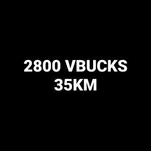 FORTNITE 2800 VBUCKS - PC PS4 PS5 XBOX MOB