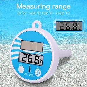 Solarni digitalni termometar bazen/akvarijum Plutajuci