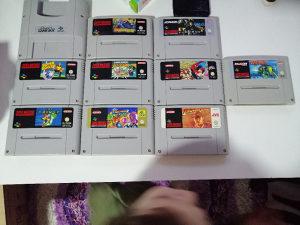 Super Nintendo igre kao nove