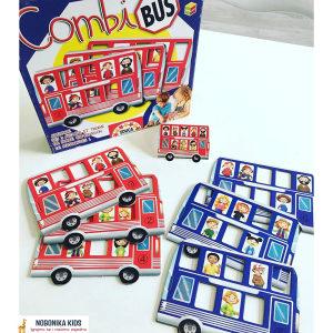 Drustvena igra autobus djecija za djecu mozgalica NOVO