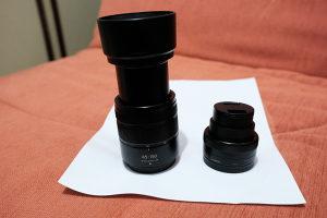 Lumix objektivi 12-32mm i 45-150mm