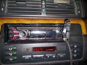 Radio cd usb aux sony