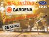 Gardena Drvena drška 180cm 0372820