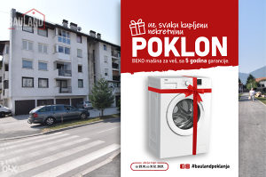 BAULAND/ Trosoban dvostran stan-83m2 / Otes / Ilidža