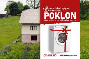 BAULAND/ Kuća sa 10 duluma zemljišta/ Vareš